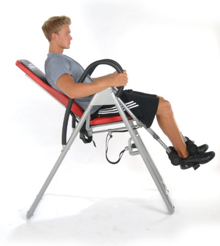 Picture of Seated Inversion Table User